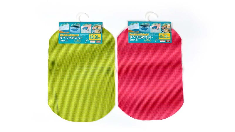 Daiso Japan Non Slip Mat 2 Sheets Two Colors Ebay